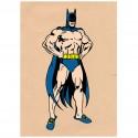 Affiche Batman à la maison / Batman at home