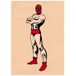 Affiche Spiderman à la maison / Spiderman at home