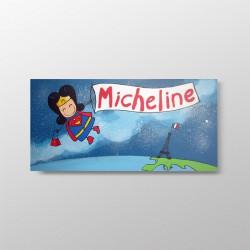 Tableau de naissance Micheline