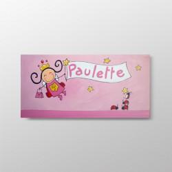 Tableau de naissance Paulette